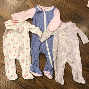 Bundle side zipper pjs- gap & Cat & Jack
